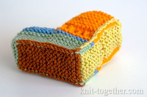 How to knit booties for beginners.The parts of the booties