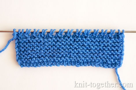 How to knit booties for beginners. Stage 1