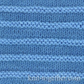 Purl Stripes