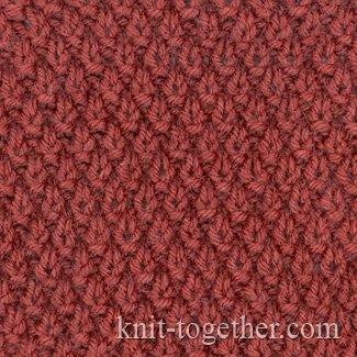 Fine Knitting Pattern 1