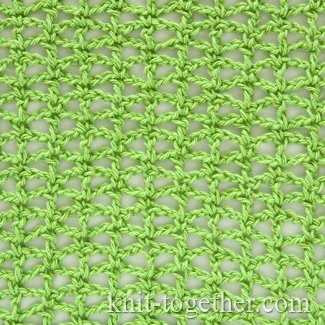 Simple Crochet Stitch Pattern 3