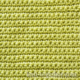 Singls Crochet Stitch Pattern