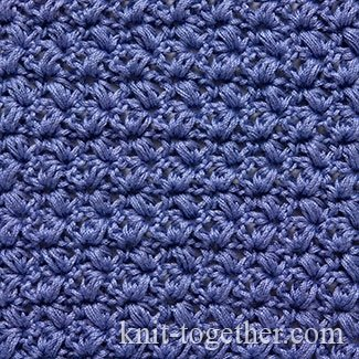 "Crochet Stitch Pattern ""Lilac"""