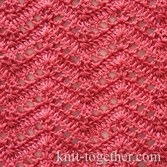 Crochet Ripple Stitch Pattern #1