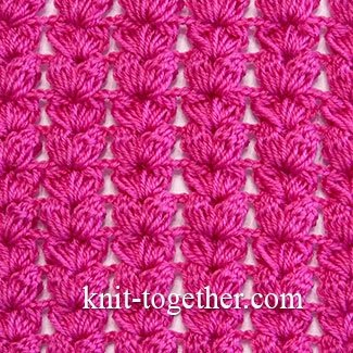 Textured Crochet Stitch Pattern 1