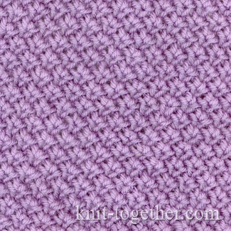 Knit Together Fabric Pattern with needles, knitting pattern chart, Fine Kni...