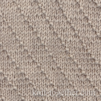 Basic Knit And Purl Stitch : Modal title
