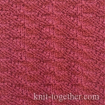 Knitting Stitch Together : Knit Together Simple Knit and Purl Stitch Patterns