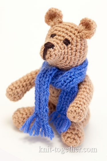 How to crochet teddy bear