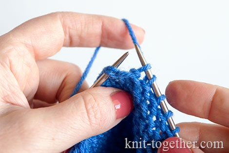How to knit booties for beginners. Stage 14