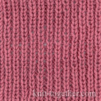 Knitting Sew Stitches Together : Knit Together Simple Easy Rib 1x1, knitting pattern, Simple Easy Rib 1x1 wi...