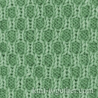 Knitting Stitches Texture : Knit Together Textured Knitting Pattern 1, knitting pattern chart, Textured...