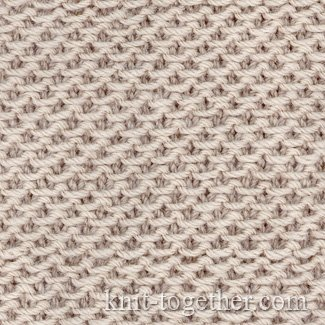 Fabric Pattern of Loop Stitches