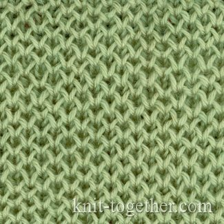 Honeycomb Knitting Pattern : Knit Together Fine Honeycomb Pattern with needles ...