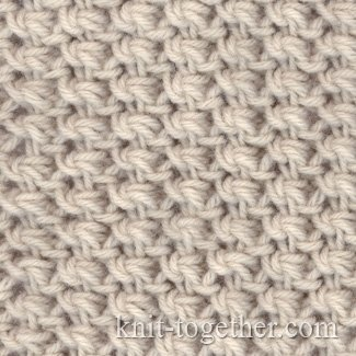Knitting 4 Stitches Together : Knit Together Fine Knitting Pattern 2 with needles, knitting pattern chart,...