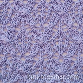 Knitting Stitch Together : Knit Together Caramel Lace Pattern, knitting pattern chart, Eyelet and Lace...