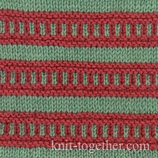 Multi-Color Stitch Pattern 1