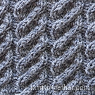 Twisted Cable Pattern 1