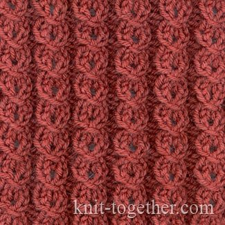Knitting 4 Stitches Together : Knit Together Lock Pattern with needles, knitting pattern chart, Cable and ...