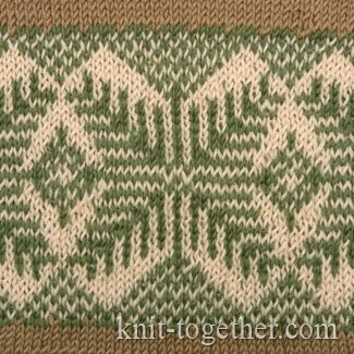 Norwegian Jacquard Pattern 3