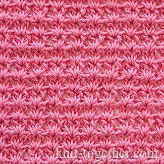 Simple Crochet Stitch Pattern 5