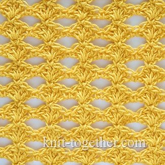 Crochet Shell Stitch in the Sun