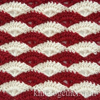 "Multicolor Crochet Stitch Pattern ""Dianthus"""