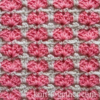 Multicolor Crochet Stitch Pattern for Children