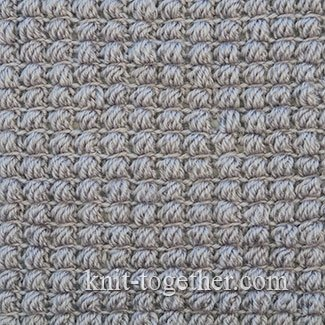 Crochet Puff Stitch Pattern