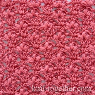 "Crochet Stitch Pattern ""Cherry Blossoms"""