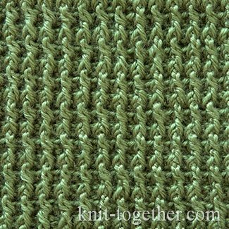 Single Crochet Rib Stitch