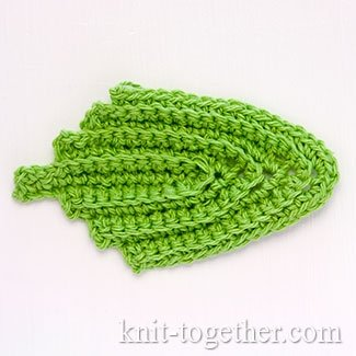 Irish Crochet Lace Leaves #2