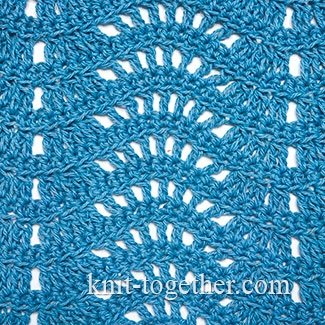 Crochet Wave Stitch Pattern #1