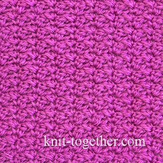 Dense Crochet Stitch Pattern 4