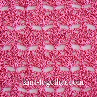 Crochet Shell Stitch 5
