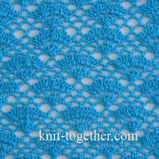 Lacy Crochet Stitch Pattern 7